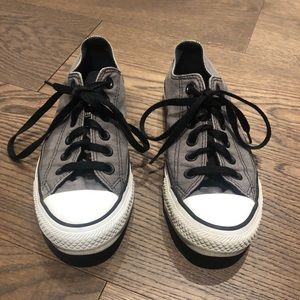Grey Converse Chuck Taylor Sneakers